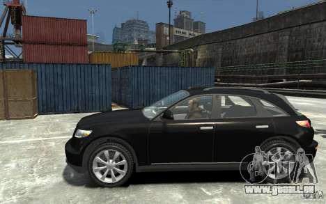 Infiniti FX45 für GTA 4 linke Ansicht