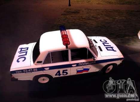 VAZ 2106 Polizei V 2.0 für GTA San Andreas Innenansicht
