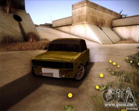 Dérive de VAZ 2106 pour GTA San Andreas vue de côté