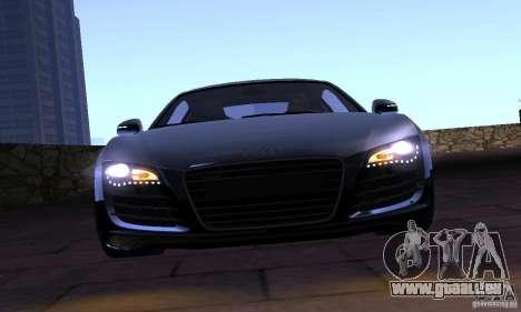 Audi R8 4.2 FSI pour GTA San Andreas vue arrière
