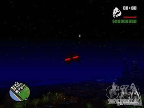 Ciel étoilé V 2.0 (solo) pour GTA San Andreas cinquième écran