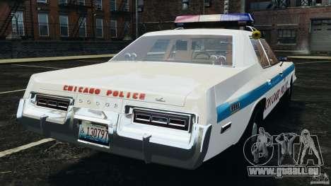 Dodge Monaco 1974 Police v1.0 [ELS] pour GTA 4 Vue arrière de la gauche
