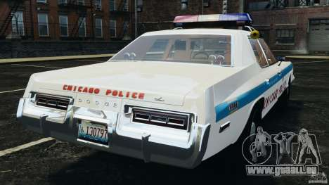 Dodge Monaco 1974 Police v1.0 [ELS] für GTA 4 hinten links Ansicht