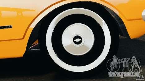 Chevrolet Opala Gran Luxo für GTA 4 Unteransicht