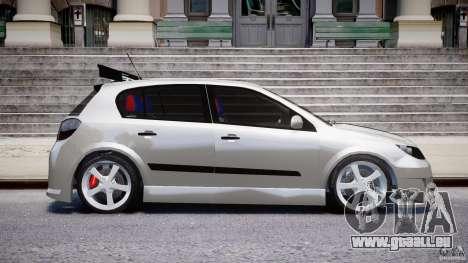 Opel Astra 1.9 TDI 2007 pour GTA 4 est un côté