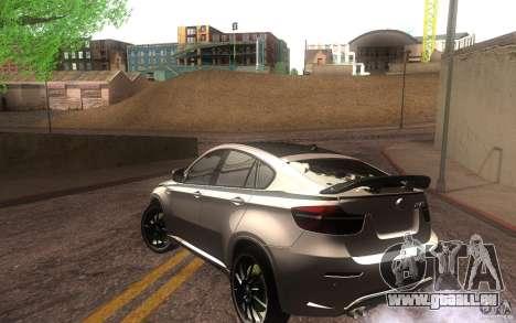 Bmw X6 M Lumma Tuning für GTA San Andreas zurück linke Ansicht