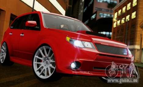 Subaru Forester RRT sport 2008 für GTA San Andreas