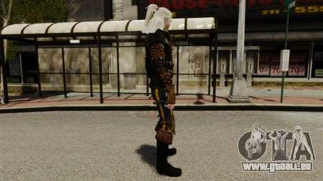 Geralt de Rivia v1 pour GTA 4 secondes d'écran