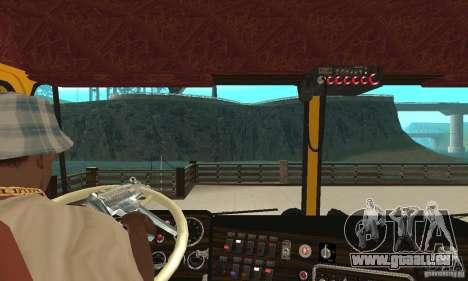 Kenworth K100C Aerodyne pour GTA San Andreas vue de droite