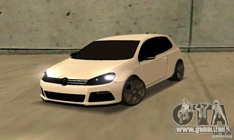 Volkswagen Golf R Modifiye pour GTA San Andreas