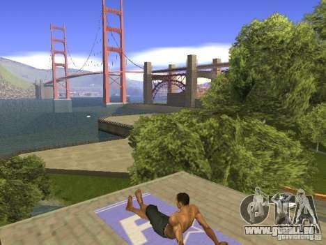 Natte de repos pour GTA San Andreas cinquième écran