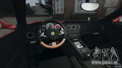 Ferrari 575M Superamerica [EPM] pour GTA 4 Vue arrière