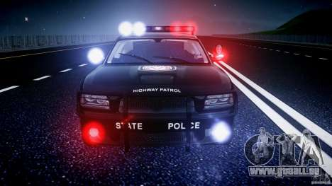 Dodge Charger NYPD Police v1.3 für GTA 4 Räder