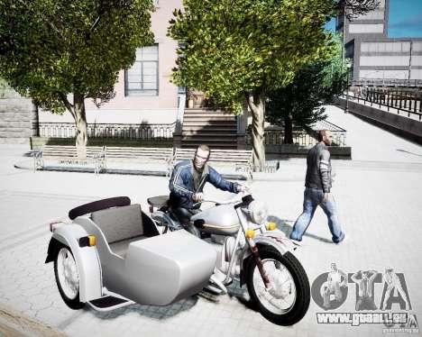 Ural m-67 pour GTA 4 Vue arrière