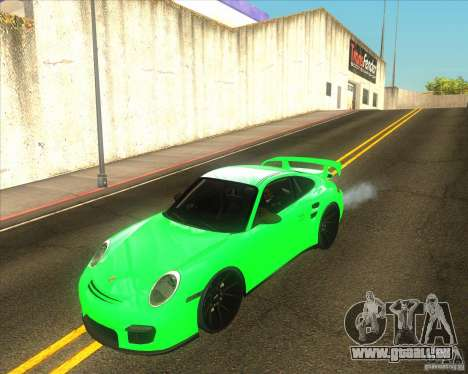 Porsche 911 GT2 (997) black edition für GTA San Andreas