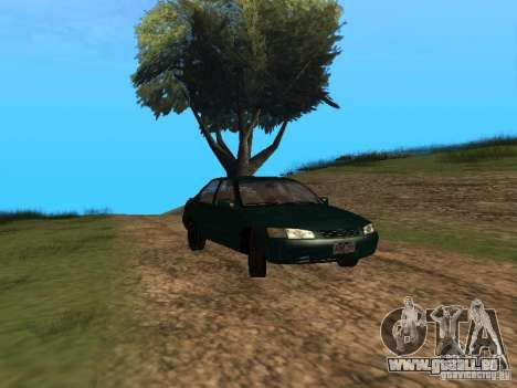Toyota Camry Arabian Tuning pour GTA San Andreas vue de droite