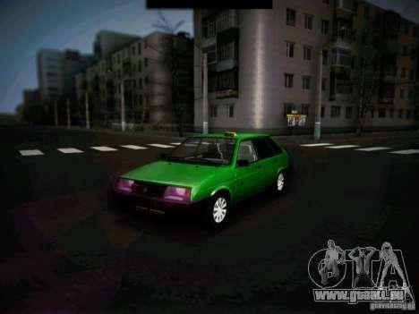 VAZ 2109 kurz-Kryloe Taxi für GTA San Andreas