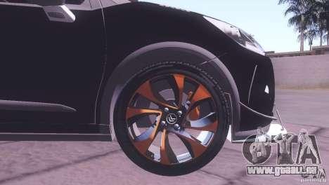 Citroen DS3 Tuning für GTA San Andreas Seitenansicht