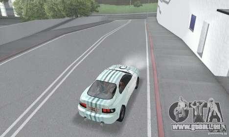 Toyota Celica GT4 2000 für GTA San Andreas obere Ansicht