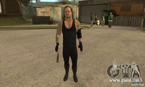L'undertaker à Smackdown 2 pour GTA San Andreas