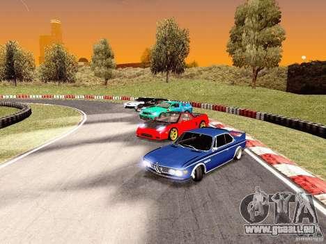 BMW 30 CSL Drift für GTA San Andreas Innenansicht