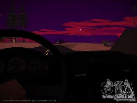 Gazelle 32213 Business v1.0 pour GTA San Andreas vue de dessus