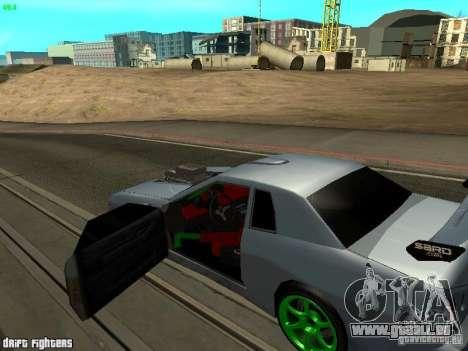 Elegy Dark Evolution Drift Final pour GTA San Andreas sur la vue arrière gauche