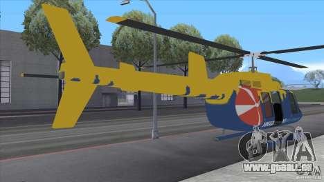 GTA IV News Maverick pour GTA San Andreas sur la vue arrière gauche
