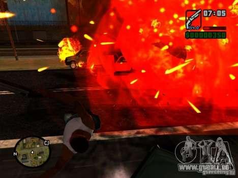 Müll von der explosion für GTA San Andreas zweiten Screenshot