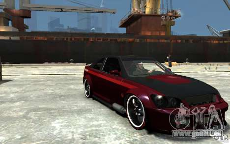 Sultan RS V2.5 für GTA 4 Rückansicht