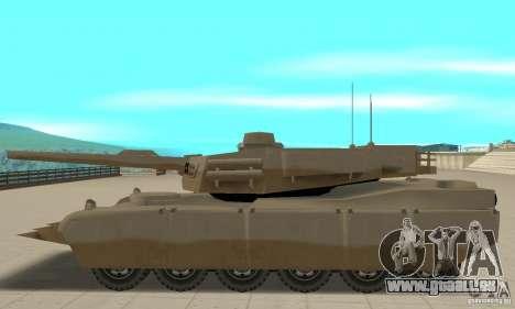 Lahm Nel Rhino tank für GTA San Andreas linke Ansicht