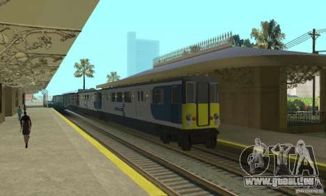 Cerberail Train für GTA San Andreas