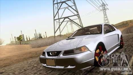 Ford Mustang GT 1999 pour GTA San Andreas vue de droite