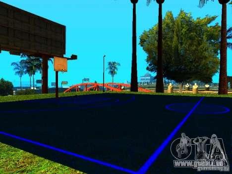 Basketballplatz für GTA San Andreas zweiten Screenshot