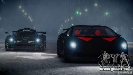 Lamborghini Sesto Elemento 2013 V2.0 pour GTA 4 est une vue de l'intérieur