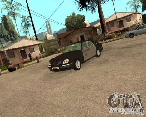 Semaine de la Police de GAZ Volga 3110 pour GTA San Andreas