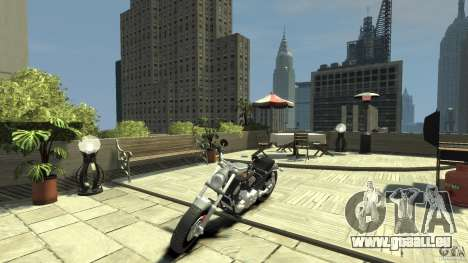 Harley Davidson V-Rod (ver. 0.1 beta) HQ für GTA 4 linke Ansicht