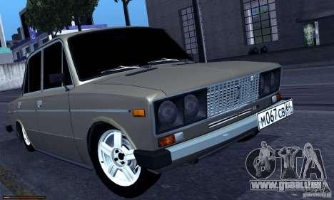 VAZ 2106 Hobo für GTA San Andreas linke Ansicht