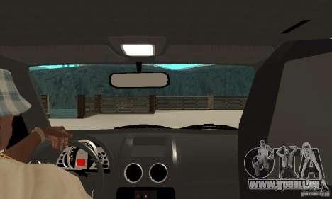 Volkswagen Gol G4 Taxi für GTA San Andreas rechten Ansicht
