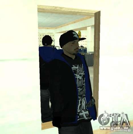 Vagos Gang Skins pour GTA San Andreas huitième écran