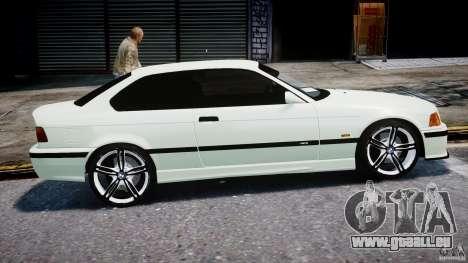 BMW e36 M3 für GTA 4 Innenansicht