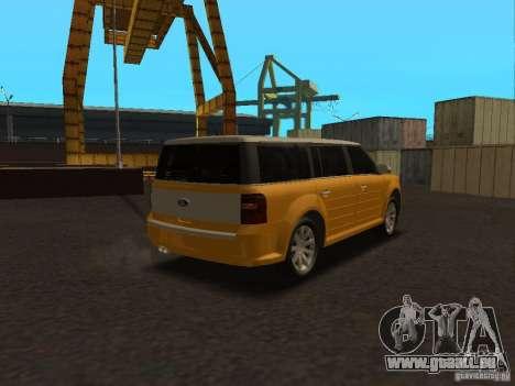 Ford Flex pour GTA San Andreas laissé vue