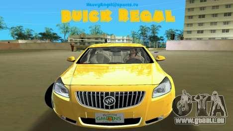 Buick Regal pour GTA Vice City