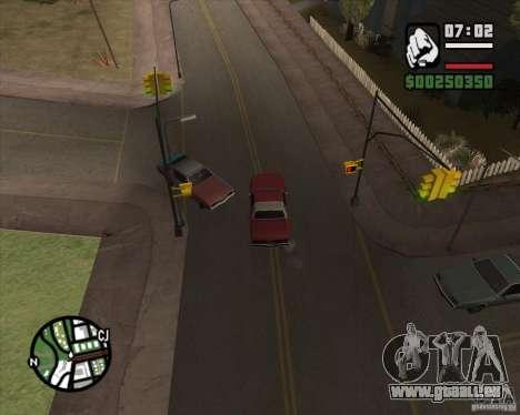 Caméra comme dans GTA Chinatown Wars pour GTA San Andreas quatrième écran