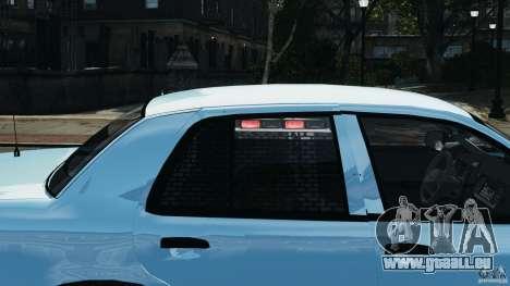 Ford Crown Victoria Police Unit [ELS] pour GTA 4 roues