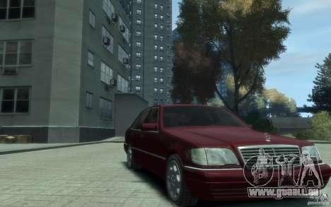 Mercedes-Benz S600 W140 für GTA 4 Rückansicht