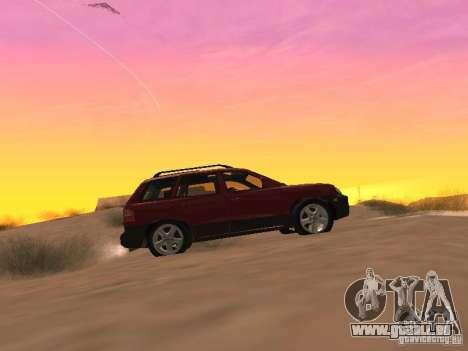 Hyundai Santa Fe Classic pour GTA San Andreas laissé vue