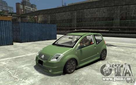 Citroen C2 pour GTA 4