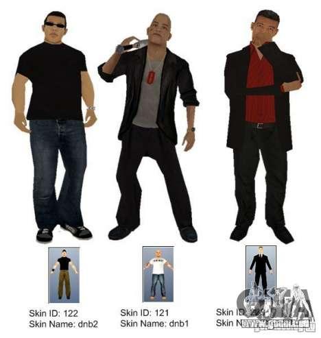 New Yakuza für GTA San Andreas