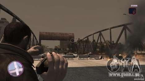 VC Style Radar/HUD (2 Skins) für GTA 4 Sekunden Bildschirm